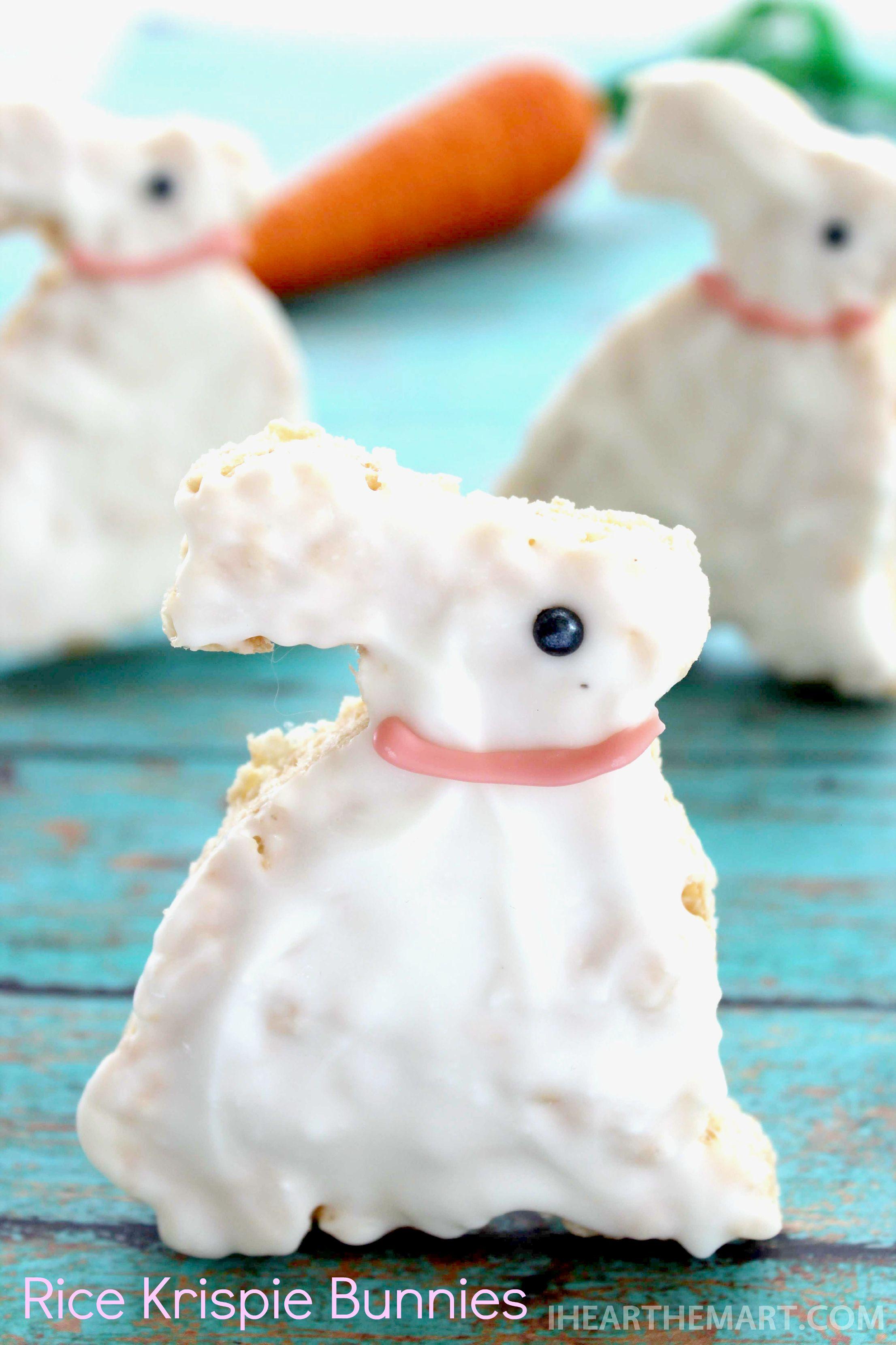 Rice Krispies Treats Bunnies Recipe