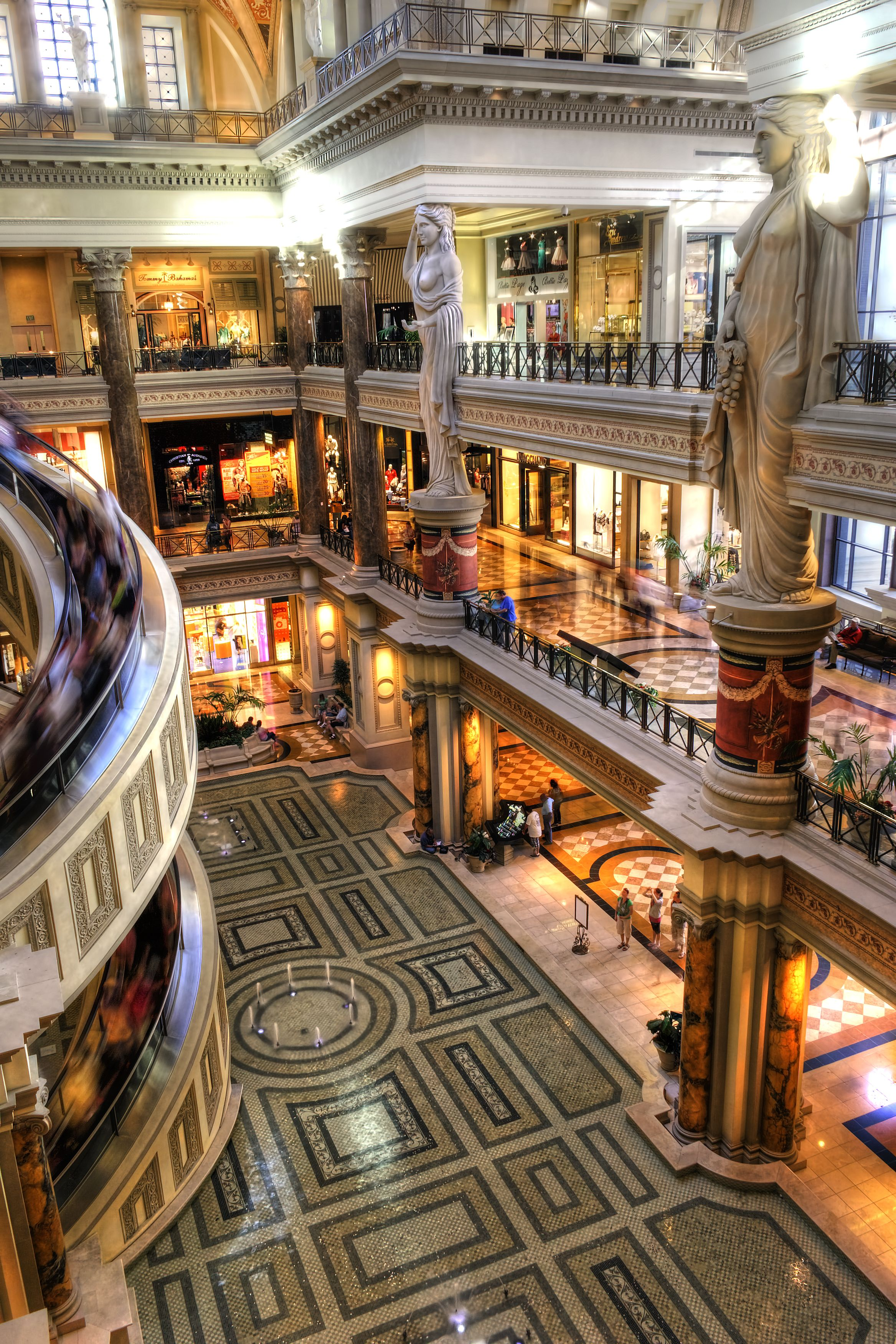The Forum Shops At Caesars Palace Las Vegas With Images