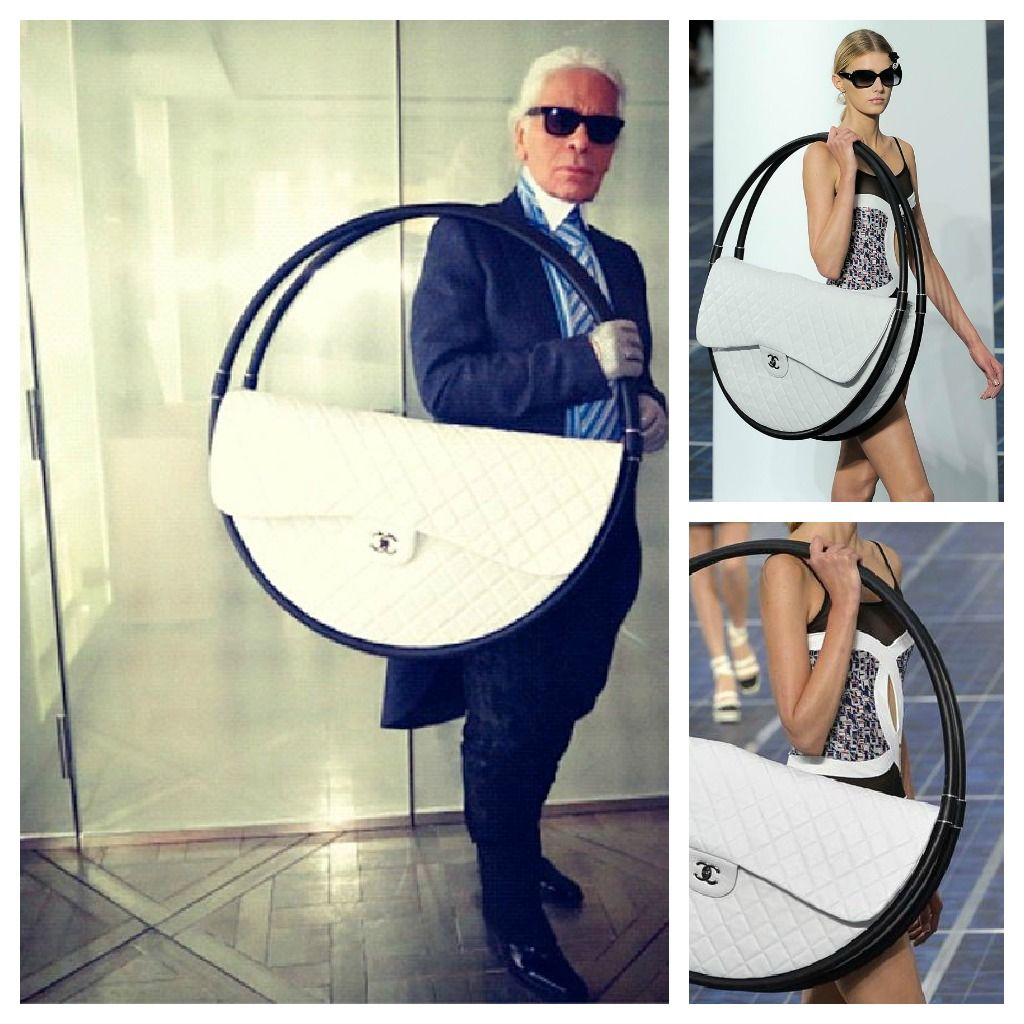 6274eb9ac49b Chanel giant circle bag. I wish i could have this! CHANEL SS13 ...