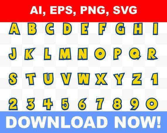 Logo De Toy Story Editable