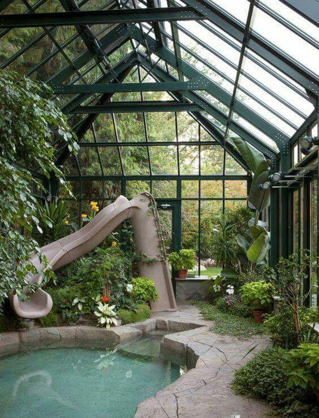 30+ Impressive Tropical Pool Design Ideas is part of  - Some people like the idea of an above ground pool because it isn't such a permanent structure, and can be […]