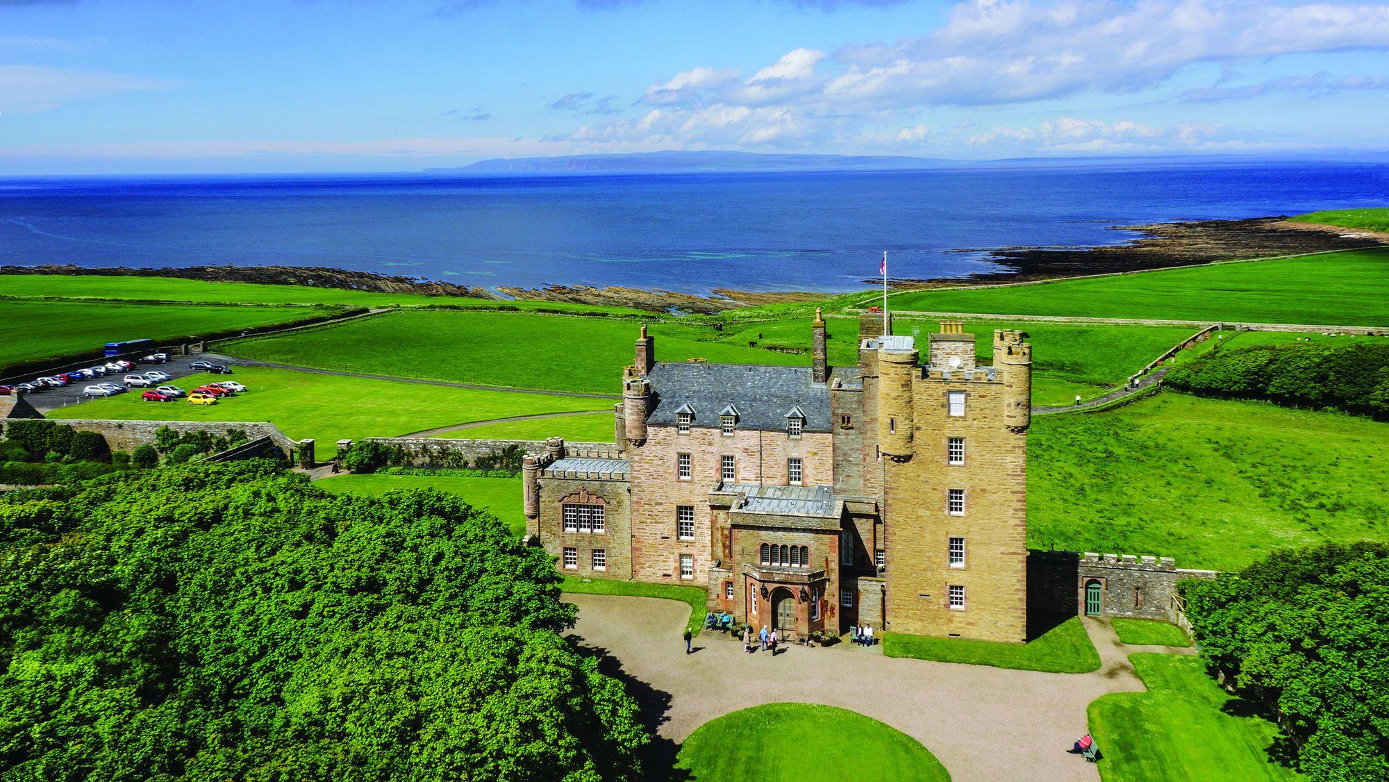 The Castle of Mey Scottish Castle & Gardens Castle