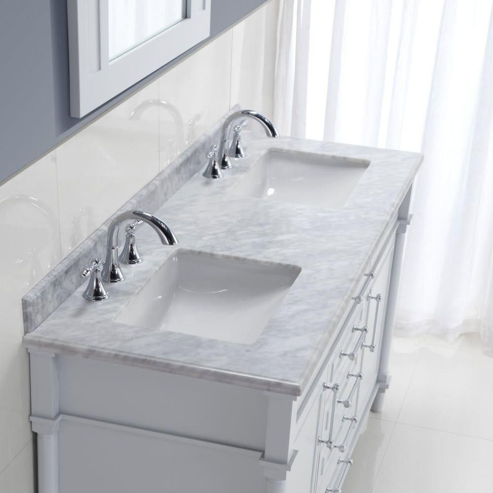 Home decorators collection aberdeen 60 in w x 22 in d double home decorators collection aberdeen 60 in w x 22 in d double vanity in dailygadgetfo Images