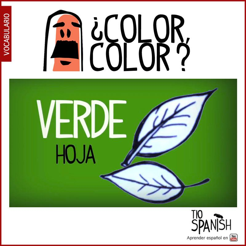 The Name Of Colors In Spanish Vocabulary List With Audio Learn Easy Free Lesson About