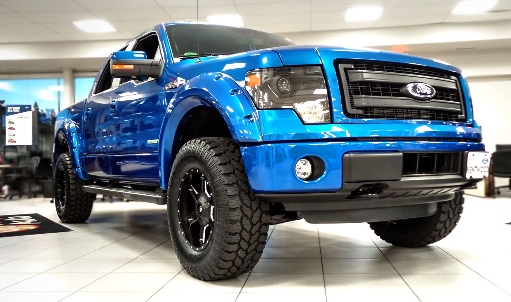 Sold This Stylish And Modified Kentwood Kustoms 2014 Ford F 150
