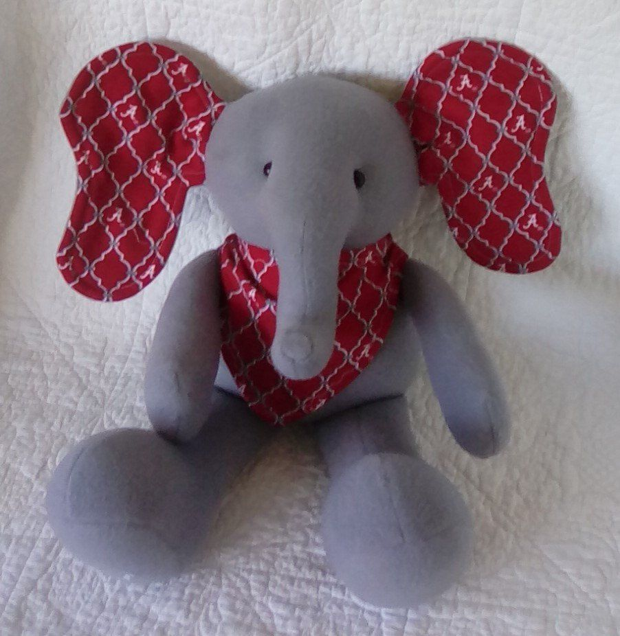 College Team Elephant Plush Elephant Elephant Baby Gift Stuffed