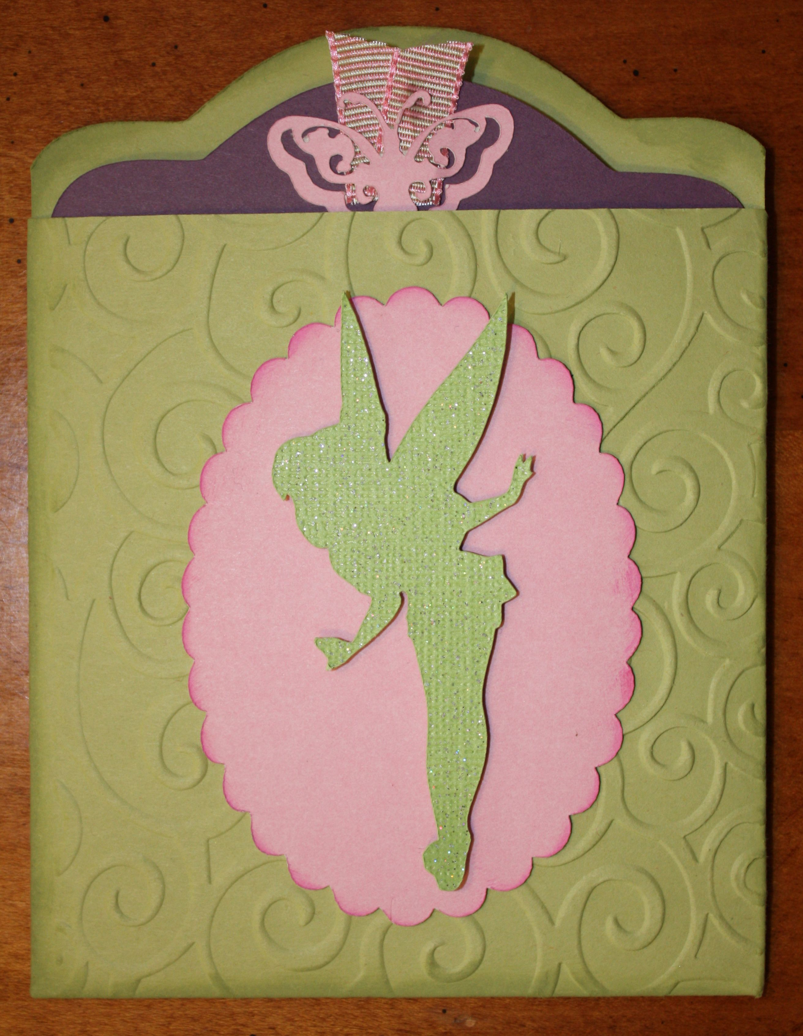 tinkerbell pocket baby shower invitation - scrapbook | shannon, Party invitations