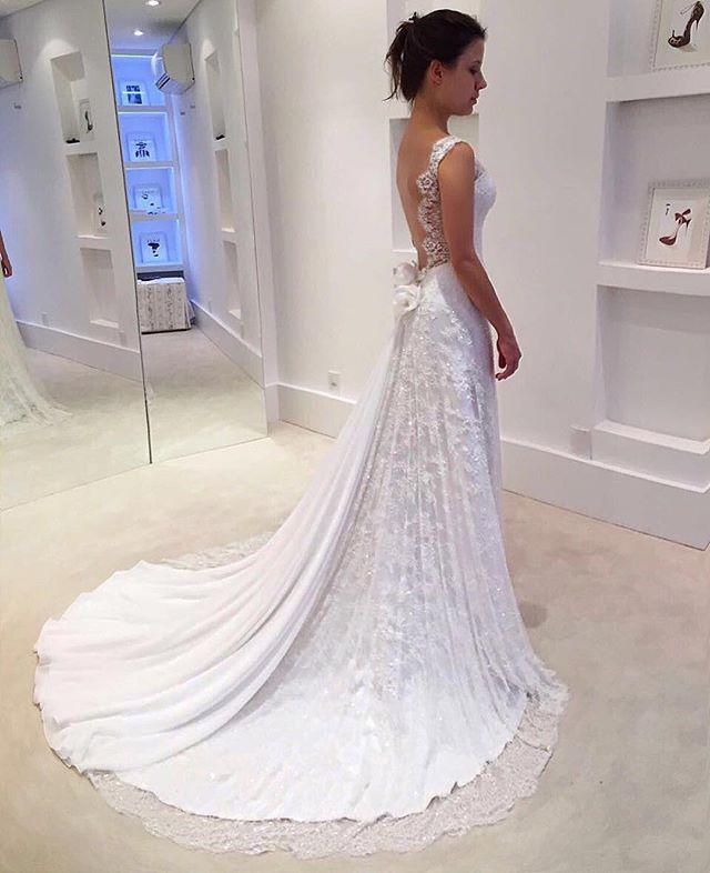 Linda demais!!! #bride #details #isabellanarchibridal #byisabellanarchi #isabellanarchicouture ❤️