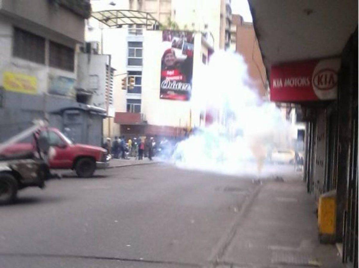 En Quinta Crespo GN reprime 19/7/2017