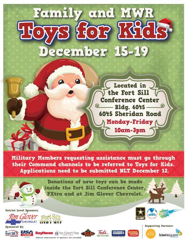 Toys for Kids flyer design