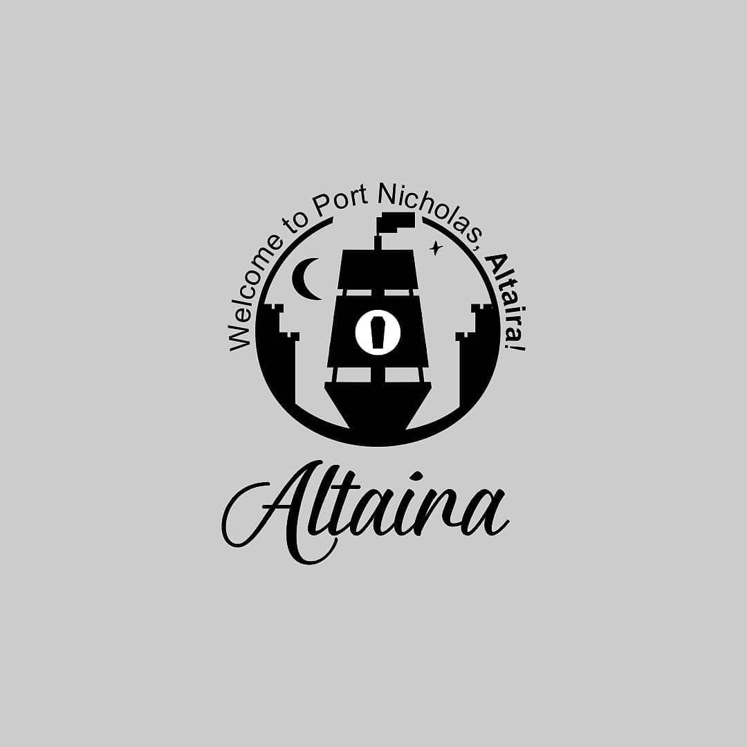 Port Nicholas Altaira Logo Design Created For A Minecraft