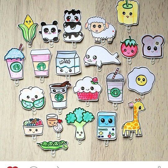 So cute ich möchte auch so schön malen können#filofax#filofaxing#sweet#like#cute#kawaii#animals#