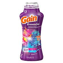 Gain Fireworks Laundry Scent Booster Beads Wildflower Waterfall