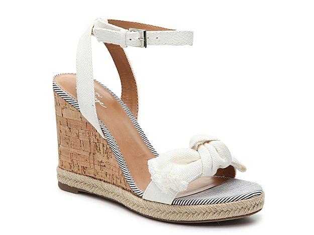 d4579ac6d16 Women Elelalian Wedge Sandal -White
