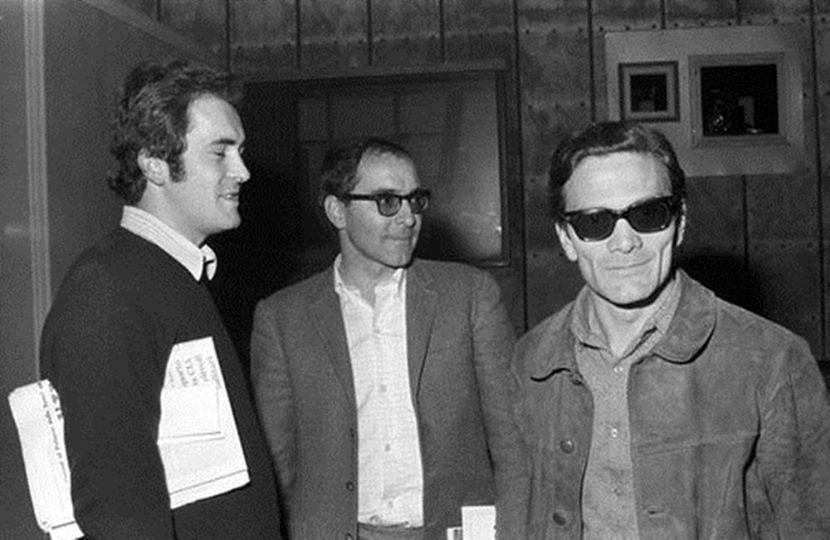 Bernardo Bertolucci, Jean-Luc Godard & Pier Paolo Pasolini