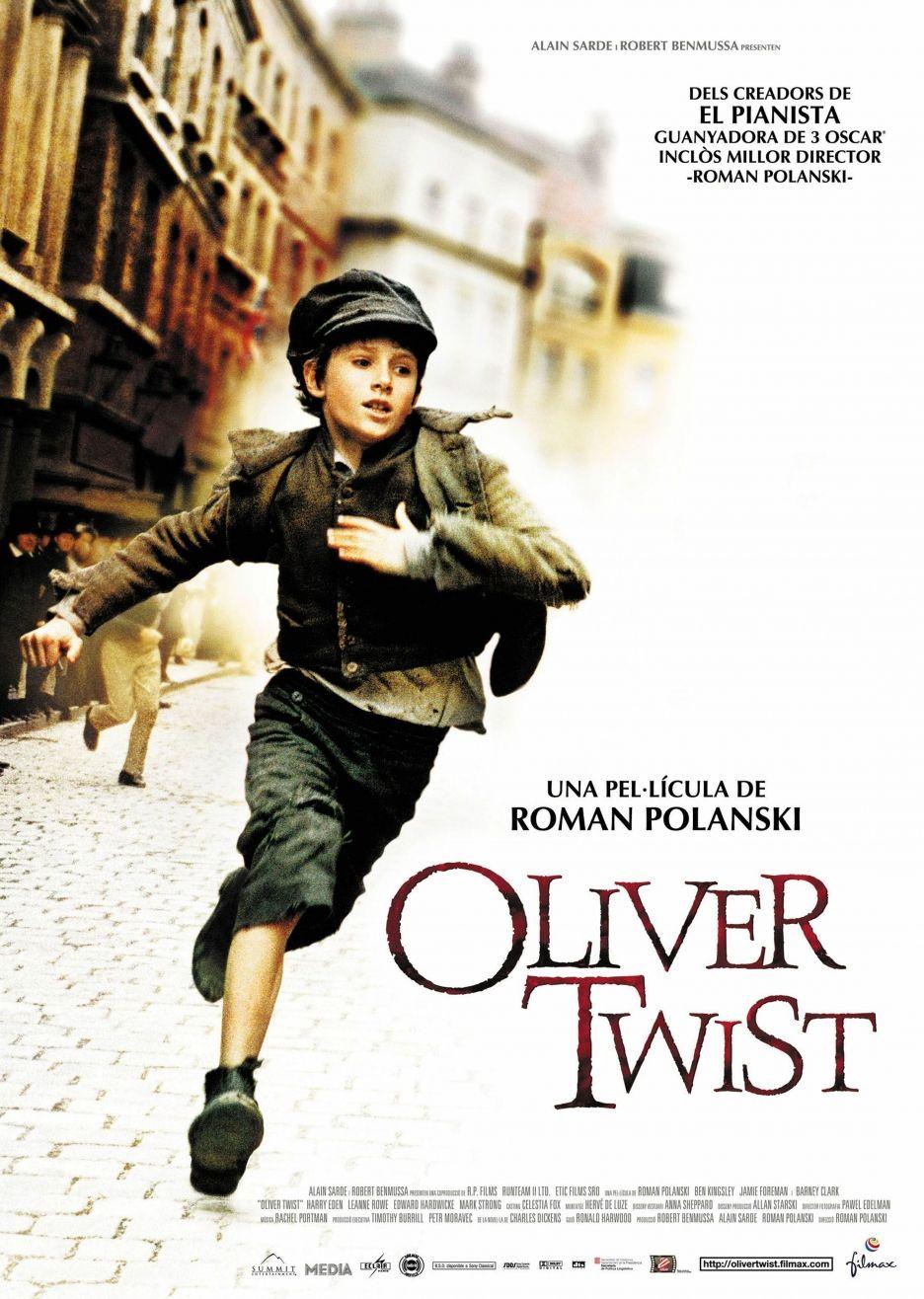Afbeeldingsresultaat voor oliver twist poster roman polanski
