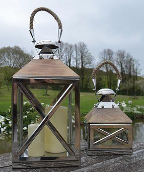 dartmoor candle lantern stainless steel garden decor wedding