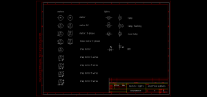 CAD Blocks of Electronic and Electrical Symbols CAD Library