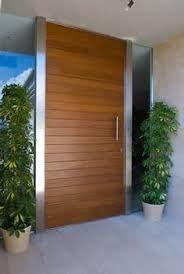Resultado De Imagen Para Puerta De Entrada Casa Moderna Puertas De Entrada Puertas De Madera Puertas De Entrada De Madera