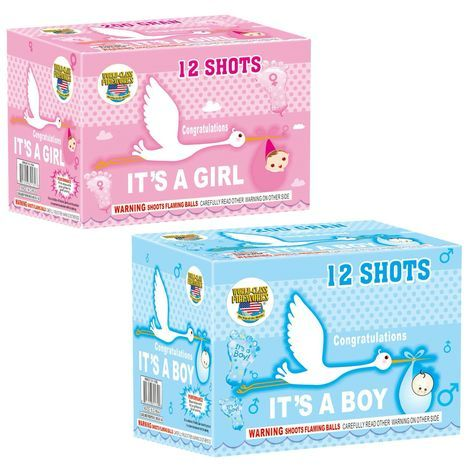 Gender Reveal Fireworks Available At Noise R Us In Newport Nh Baby Gender Reveal Party Baby Reveal Party Reveal Ideas