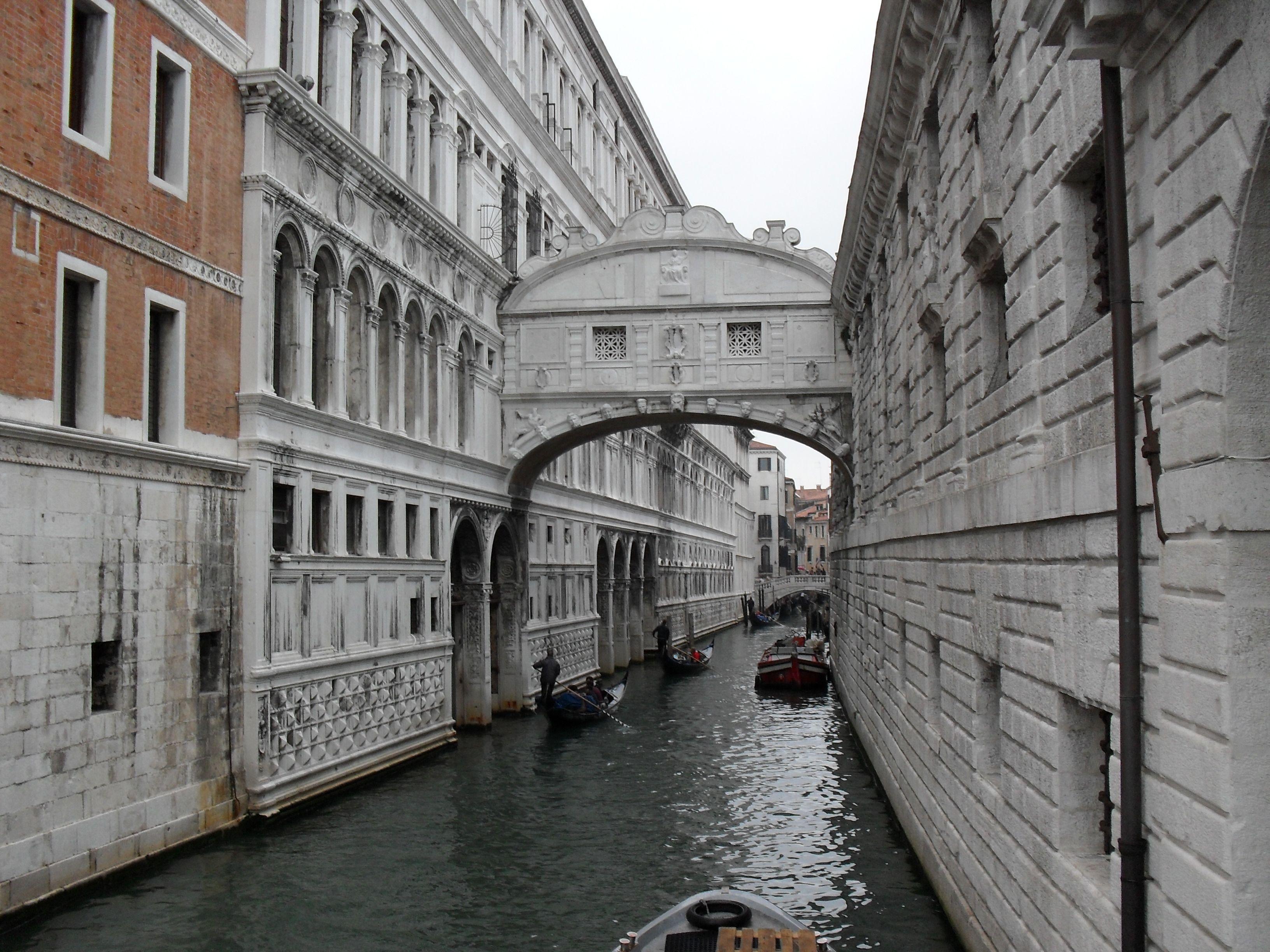 Puente De Los Suspiros Venecia Italia Puente De Los Suspiros Venecia Italia