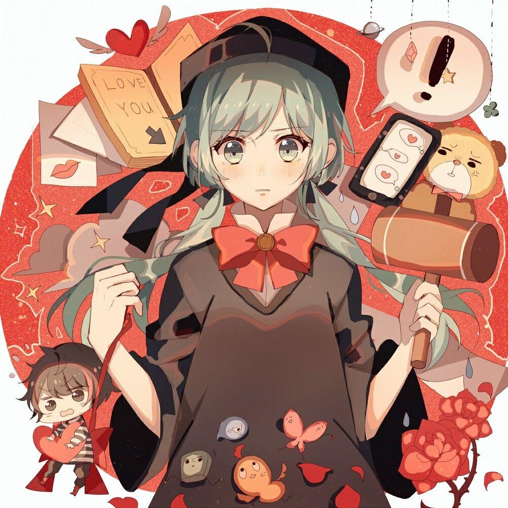 Renai Saiban (Có hình ảnh) Anime, Cô gái phim hoạt hình