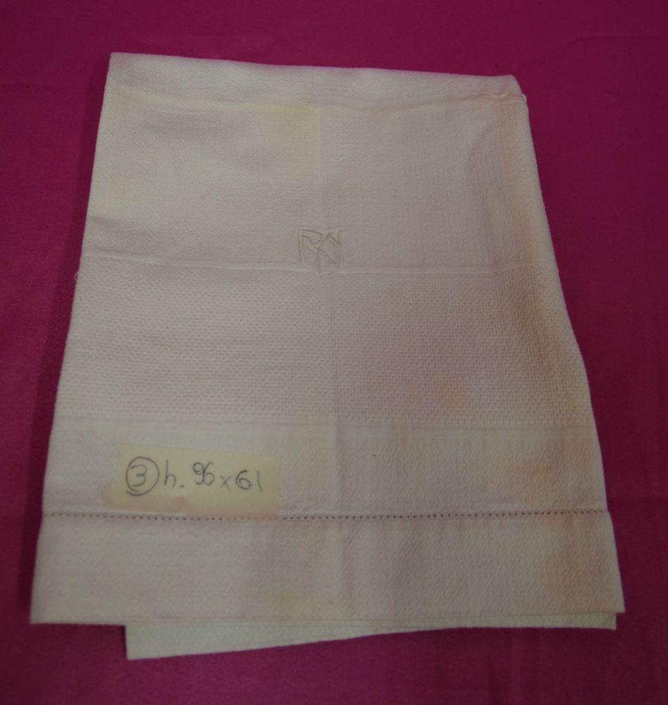 Asciugamani cotone lavorato R.N.  96x61 (3) B12 Cotton Towel Serviette