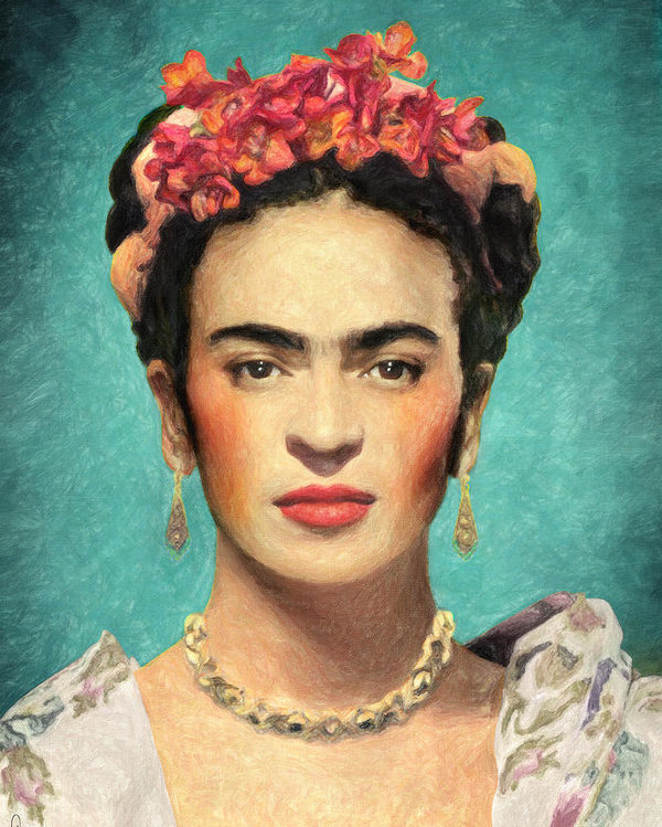 Frida Kahlo Poster By Zapista Ou Kahlo Paintings Frida Kahlo