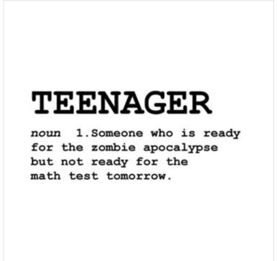 Teens and Tweens Who Worry - Nanahood