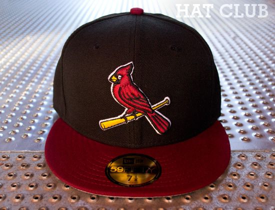 de21f68a9a0 Custom Cardinals 59Fifty Fitted Cap By NEW ERA x MLB   HAT CLUB ...