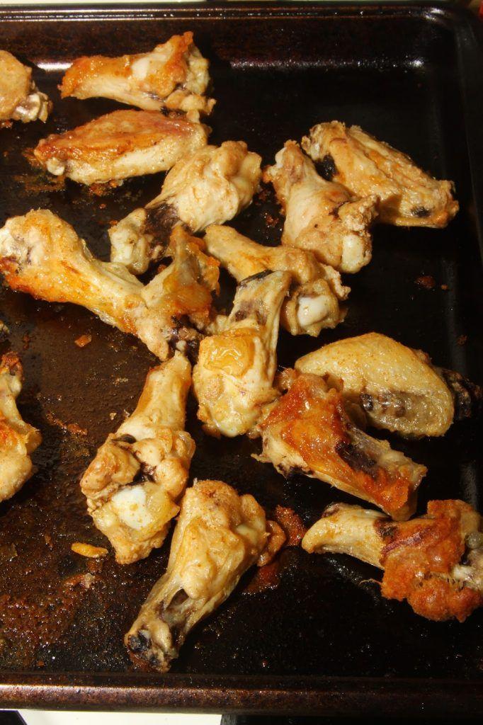 Dragon Fire Chicken Wings Recipe Sweet, spicy sauce