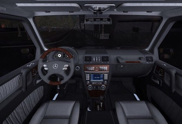 Ccd Mercedes Benz G350 Cdi Goruntuler Ile