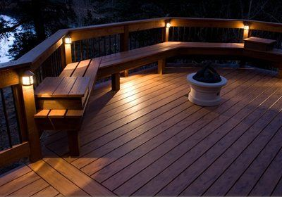 Highpoint Deck Hp 555p Apex Railing Deck Rail Light Outdoor Deck