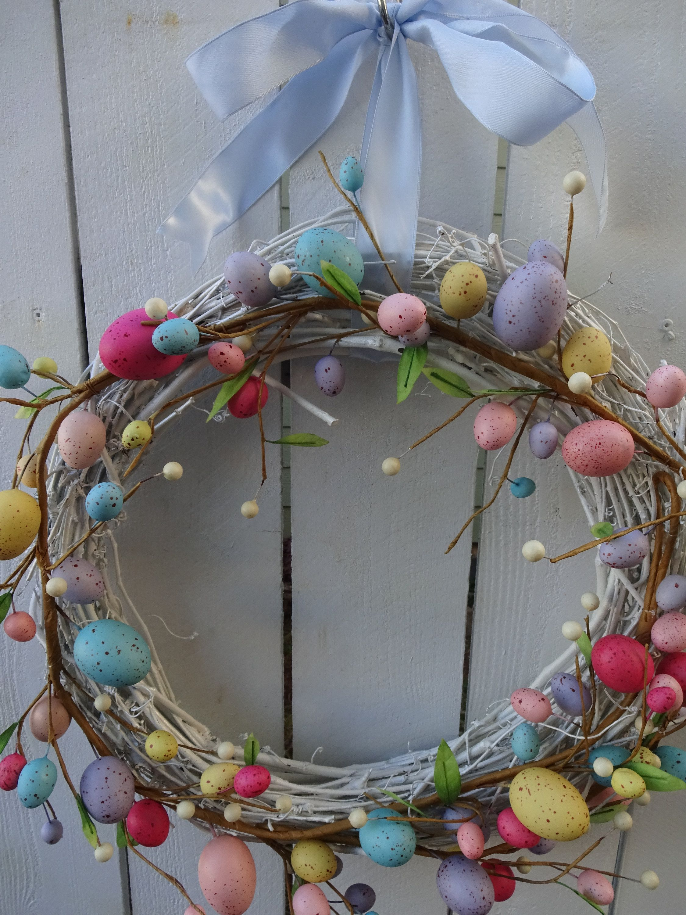 Photo of Easter Wreath Easter Egg Wreath Easter Decorations Easter Gift Easter Wreath For Front Door Wreath Front Door Wreath Wreath