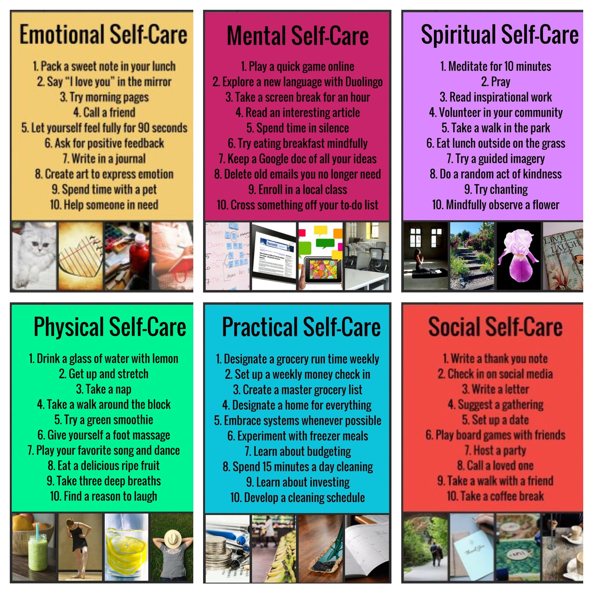 Soul Warriors #selfcare Great rules to live by for a healthier way ...