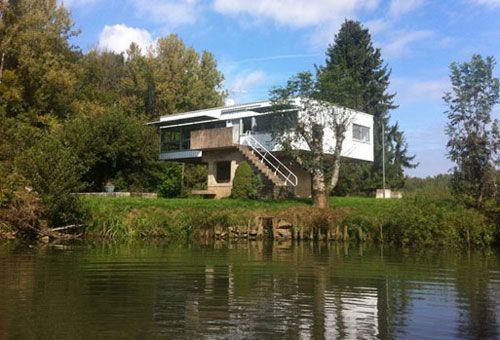 25 Moderne Haustür Mit Holzakzenten 25 moderne Haustür mit Holzakzenten Modernist House modernist house