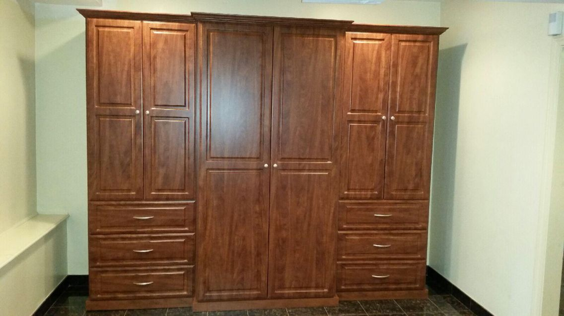 Men S Wardrobe With 10ft Of Hanging Drawers And Shelving