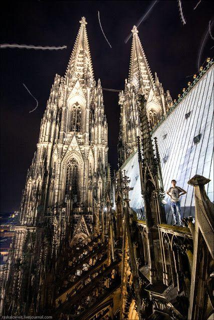 Foto a Fuoco: Vertigini? No, Grazie! Le fotografie degli scalatori delle vette europee