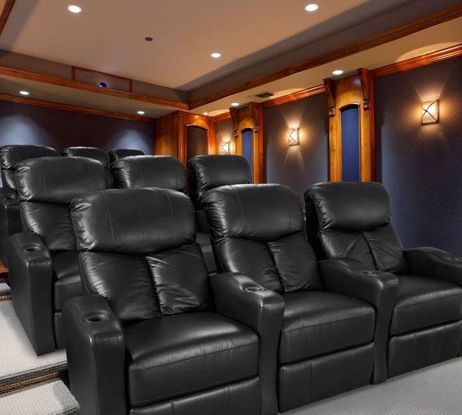 Here Are Some Grand Slam Home Theater Seats By Lane In