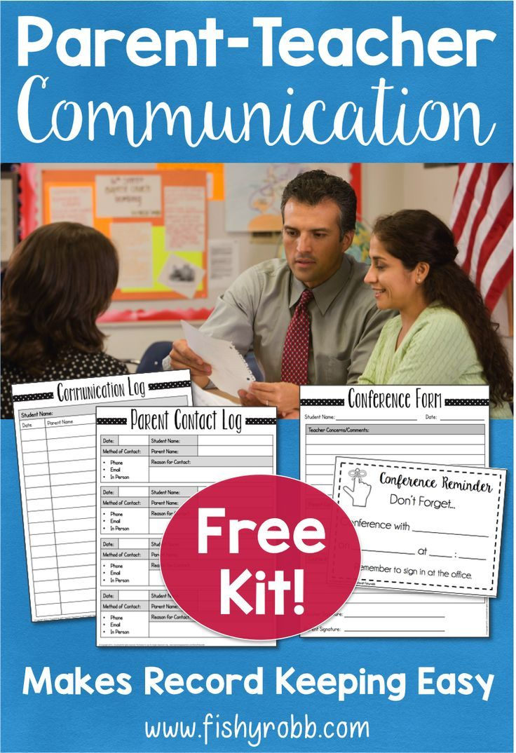 Is record-keeping the worst part of your teaching job? Get this free kit to help you get organized and keep track of your communications with parents!