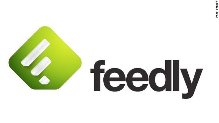 Should Feedly Be Your News Reader? Branding design logo