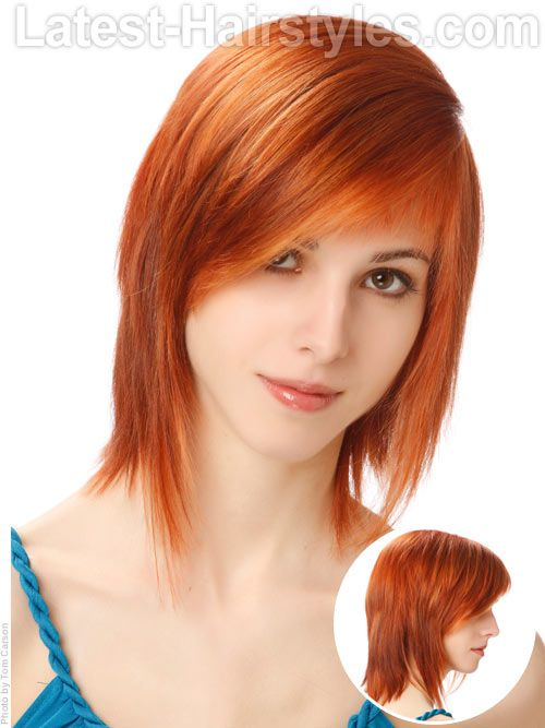 Cute Long Haircuts With Side Bangs And Layers Really Cute And Easy