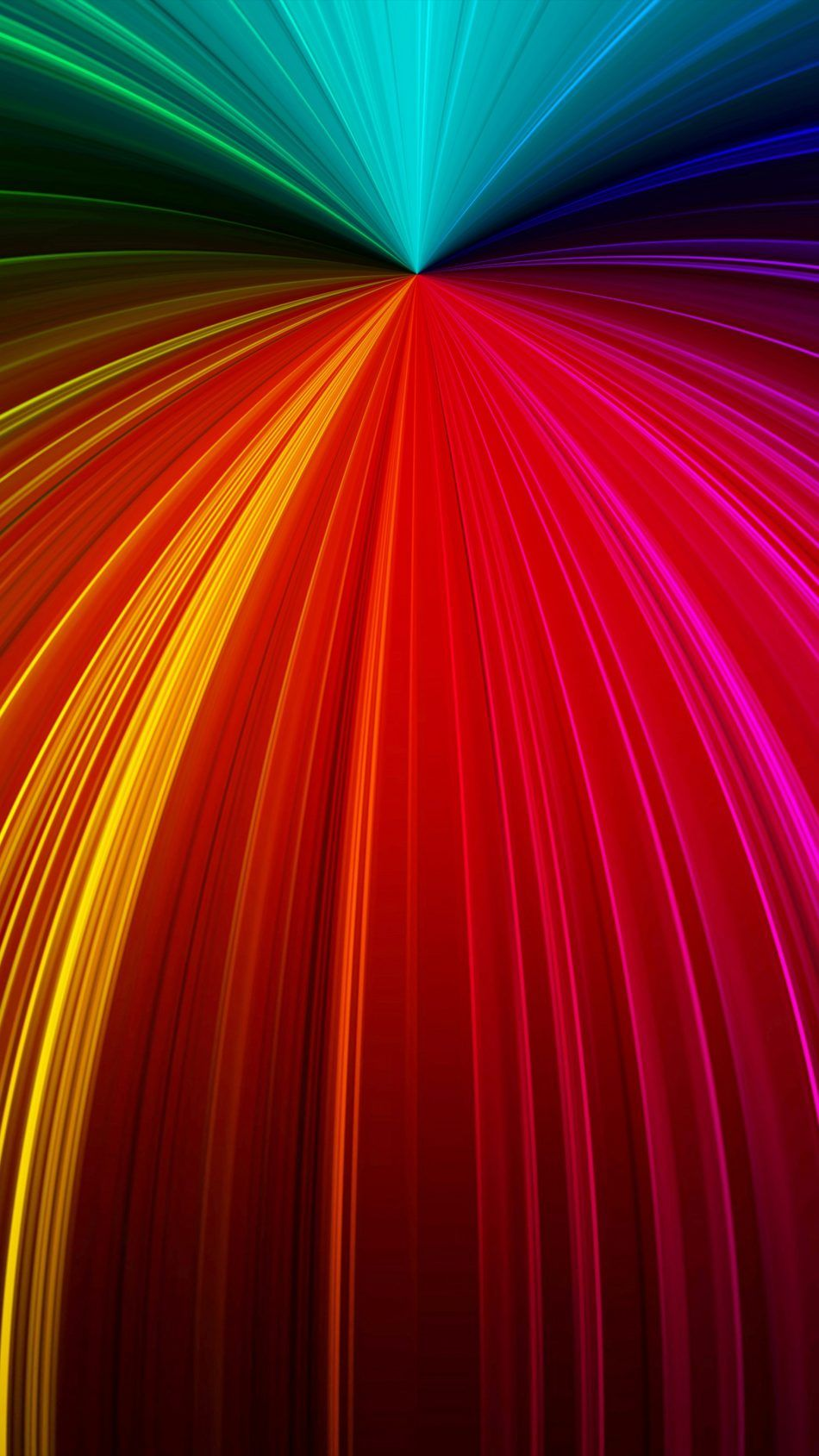 Colorful Rays Fractal Waves 4k Ultra Hd Mobile Wallpaper Abstract Wallpaper Abstract Mobile Wallpaper