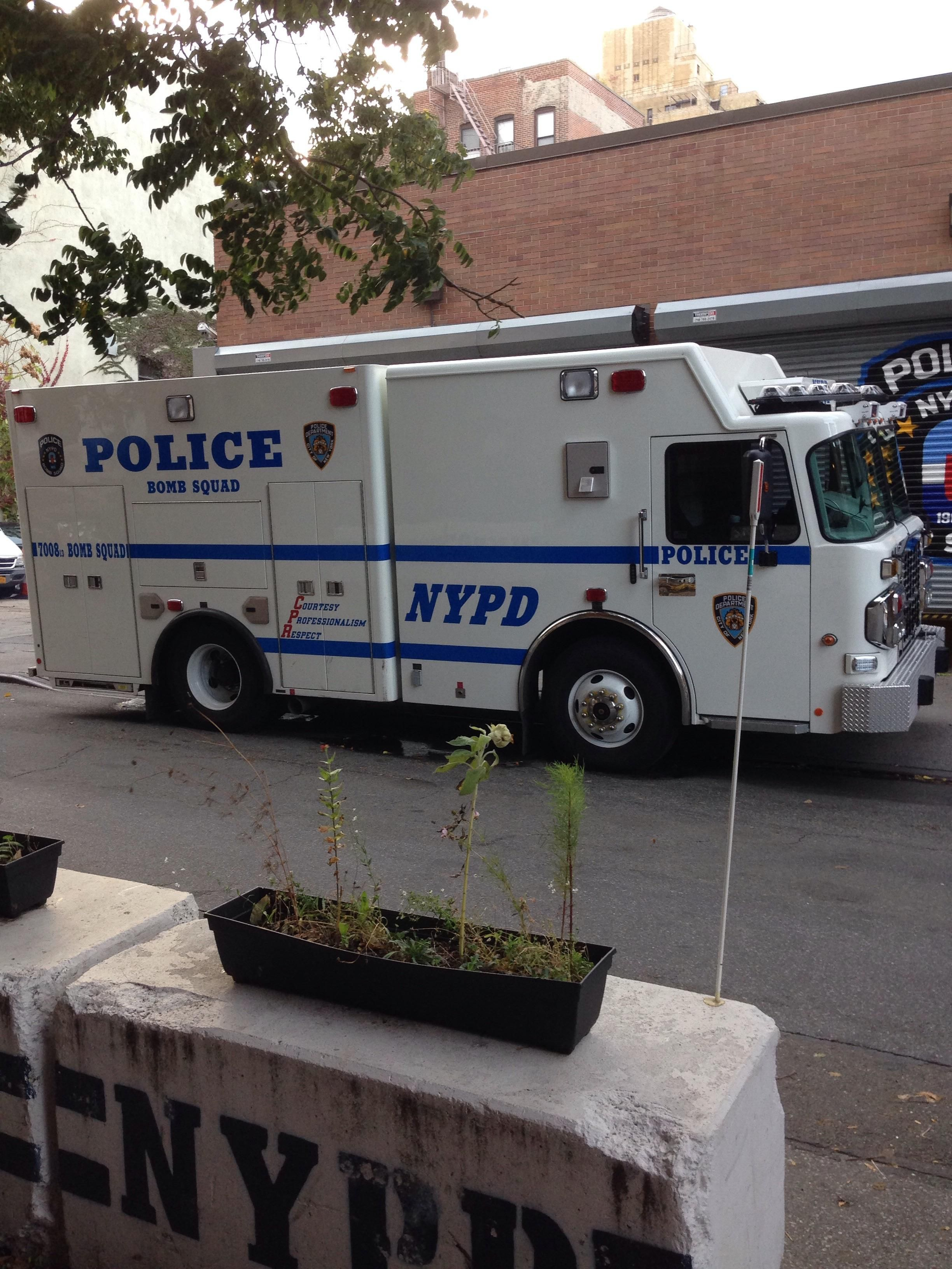 Nypd Bomb Squad Truck Police Truck Us Police Car Police Cars