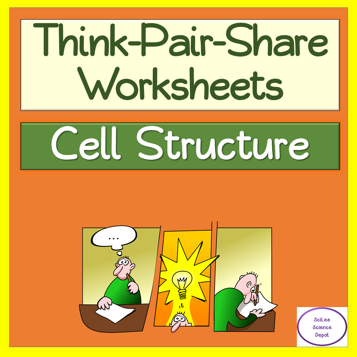 Cell Structure Think Pair Share Worksheets In
