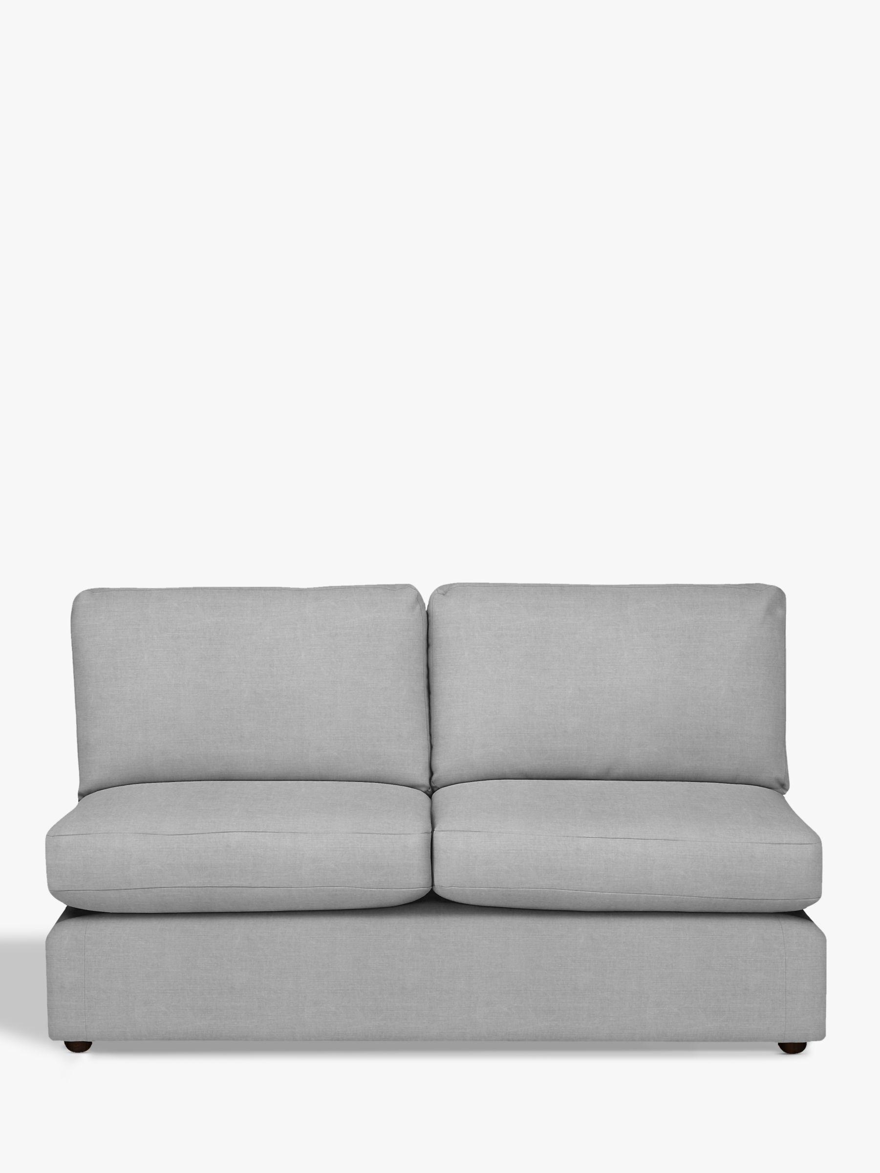 Modular Large 3 Seater Armless Sofa