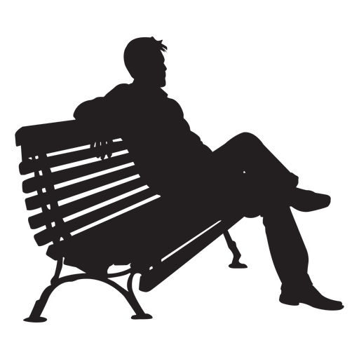 Man Sitting On Bench Silhouette Ad Affiliate Affiliate Sitting Bench Silhouette Man Shadow Images Man Sitting Person Silhouette