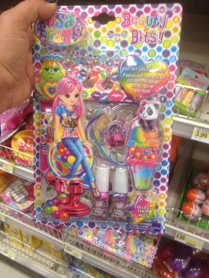 Lisa Frank Beauty Bits at Target!