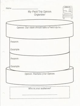 Oreo Persuasive Writing Organizers  Persuasive Letter Persuasive