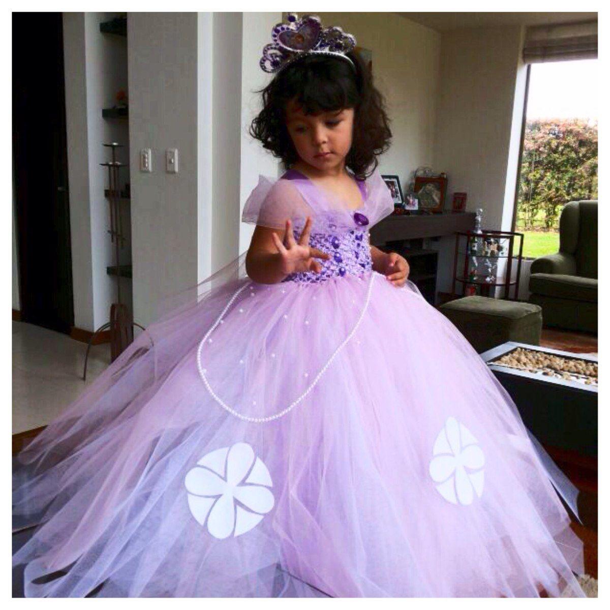 vestidos de princesita sofia para bebe - Buscar con Google ...
